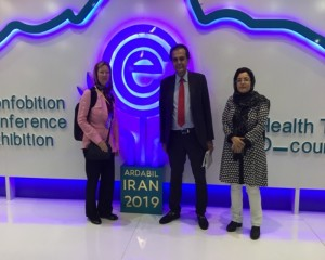 Presenting Temos in 2nd conference and exhibition on health tourism - Iran – Ardabil